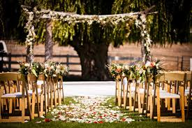 for the best outdoor weddings southern california is the