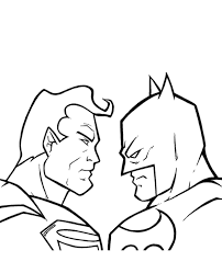 Also check out our other cartoon. Batman Vs Superman Coloring Pages Coloring Rocks