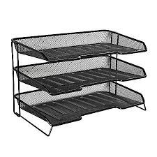 office desk tray. Rolodex Mesh Stacked 3 Tier Desk Office Tray H