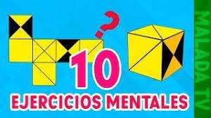 Memoria, concentración, atención, tiempo de respuesta, razonamiento verbal y no verbal… además de todo esto. 10 Ejercicios Mentales Con Respuestas Nivel Dificil L Denistec Youtube