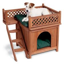 Amazon.com : Merry Pet MPS002 Wood Room with a View Pet House : Dog Houses  : Pet Supplies