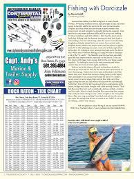 Palm Beach County Tide Chart Coastal Angler Magazine July Palm Beach County By