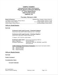 Board Meeting Agenda Samples Friends And Relatives Records Page 24 18