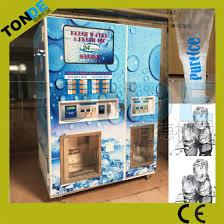 Auto Vending Machine Custom China Hotels Buildings Departments Auto Bagging Ice Vending Machines
