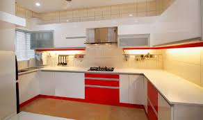 modular kitchen square edge glossy finishrak kitchens and
