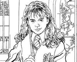40+ simboli harry potter da colorare images; Disegno Di Hermione Da Stampare Gratis E Colorare Harry Potter