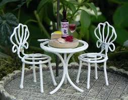 dollhouse outdoor furniture.