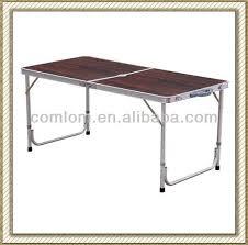 portable folding aluminium table portable picnic table