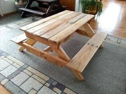 kids picnic table pallet picnic table childs picnic table plans free