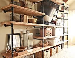 Creative diy pipe shelves design ideas House Diy Industrial Pipe Shelves Use Your Imagination To Come Up With Any Configuration There Marcopolo Florist Diy Industrial Pipe Shelves Twelve On Main
