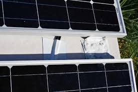 installing a renogy 200w solar kit in the rv solar panel mounts