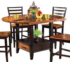 furniture dining tables steve silver abaco drop leaf counter height table