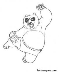 Small Picture 15 best Coloring Pages Kung Fu Panda images on Pinterest