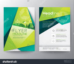 abstract triangle brochure flyer design vector template in a size abstract triangle brochure flyer design vector template in a4 size