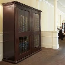 Le Cache Wine Cabinet Le Cache Wine Cabinet Euro 5200 Chocolate Cherry The Wine Kit