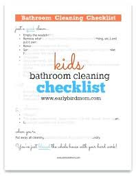 Weekly Household Chores Free Printable Household Chores Checklist Weekly Chore