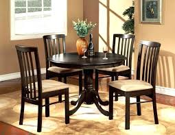 image of inch round kitchen table brown finish wide 36 and chairs