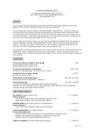 100 Fashion Design Resume Fashion Cv Template Fashion Resume