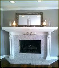 subway tile fireplaces glass tile fireplace surround marble tile fireplace surround home design ideas tile fireplace