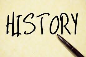 History Word Write On Paper Stock Photo Flytosky11 79860492