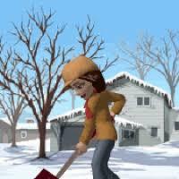 Snow Animated Shoveling Snow Animated Gifs Photobucket