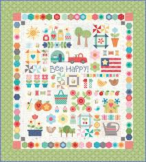 Bee Happy Quilt Kit - Quilting by the Bay in Panama City, Florida ... & Bee Happy Quilt by Lori Holt Adamdwight.com
