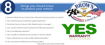 Vehicle Service Contracts Brown Chevrolet Buick Inc WarrantySolutions 17