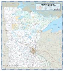 minnesota county highway wall map by maps com Mn Highway Map minnesota county highway wall map mn highway map pdf