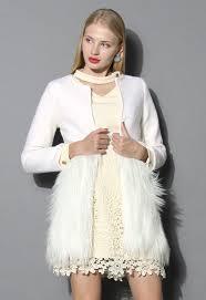 more views winter essential faux fur coat