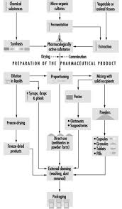 Biopharmaceutical Manufacturing Process Flow Chart Pharmaceutical Industry