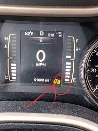 auto stop start light and what it means