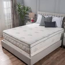 pillow top mattress vs memory foam. Interesting Memory Aloe Gel Memory Foam 13inch Kingsize Pillow Top Mattress By Christopher  Knight On Vs P
