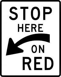 ここで赤にクリップアートを停止します クリップ アート 無料の