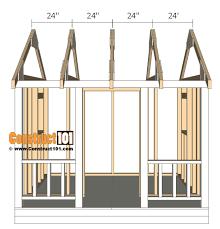 playhouse plans truss 24 o c