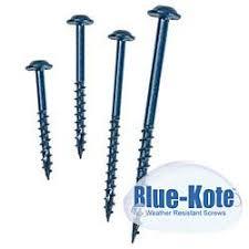 Kreg Sml C250b 250 Screws 8 Maxi Loc Blue Kote Course Thread 2 1 2 Inch