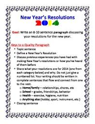 new year s resolution paragraph writing activity by amanda rick tpt new year s resolution paragraph writing activity