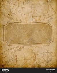 Old Map Cover Template Image Photo Free Trial Bigstock