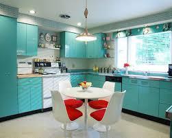 Retro Kitchen Furniture Decoration Stunning Classic Retro Kitchen Decorating Ideas In