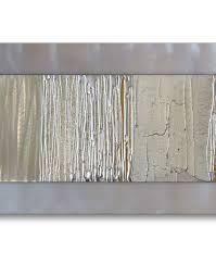 large silver metal wall art uk