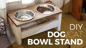 Diy Elevated Dog Food Stand