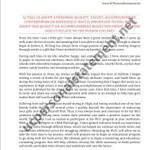 uc personal statement sample essay prompt co uc