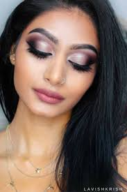 makeup looks guys love half cut crease rose gold smokey makeup tutorial try these