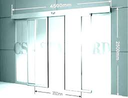 sliding door width standard glass good patio sizes and awesome pocket cavity australia beaut
