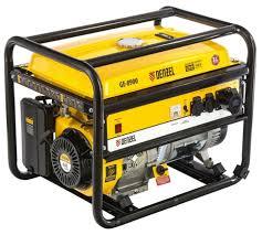 <b>Бензиновый генератор Denzel</b> GE8900 (7000 Вт) — купить по ...