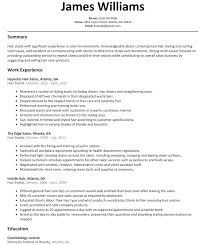 Build A Resume Like This