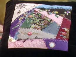 Victorian Crazy-Quilt Blocks | DIY & crazy quilts are pieced with a variety of fabrics Adamdwight.com