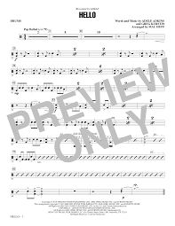 drum set sheet music hello drum set sheet music direct