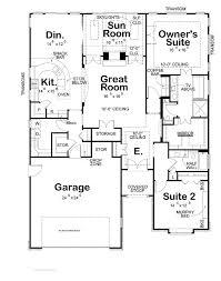 Ranch Style House Plan  5 Beds 550 Baths 5884 SqFt Plan 48433Hose Plans