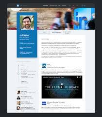 Web Designer Linkedin Linkedin Redesign Concepts Web Design Tips Design