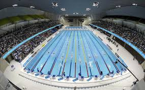olympic swimming pools. Exellent Swimming Inside The Pool Is Nearly Identical To That Of Water Cube The  Starting Blocks Feature Lights Signify Top Three Finishers In Each Heat For Olympic Swimming Pools P